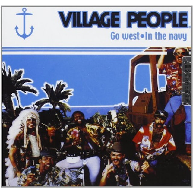 Village People GO WEST-IN THE NAVY CD