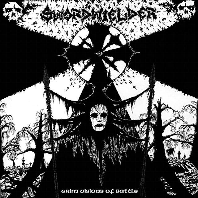 SWORDWIELDER GRIM VISIONS OF BATTLE Vinyl Record