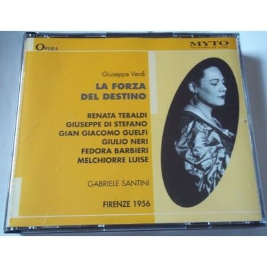 Verdi FORZA DEL DESTINO CD
