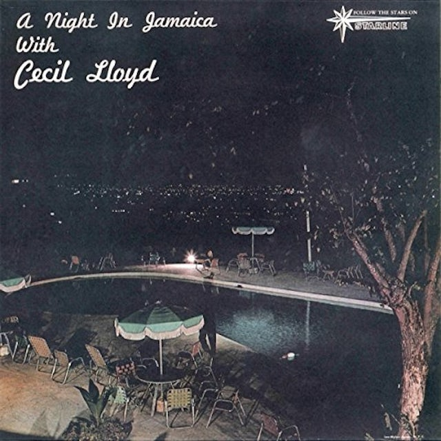 NIGHT IN JAMAICA WITH CECIL LLOYD Vinyl Record - UK Release