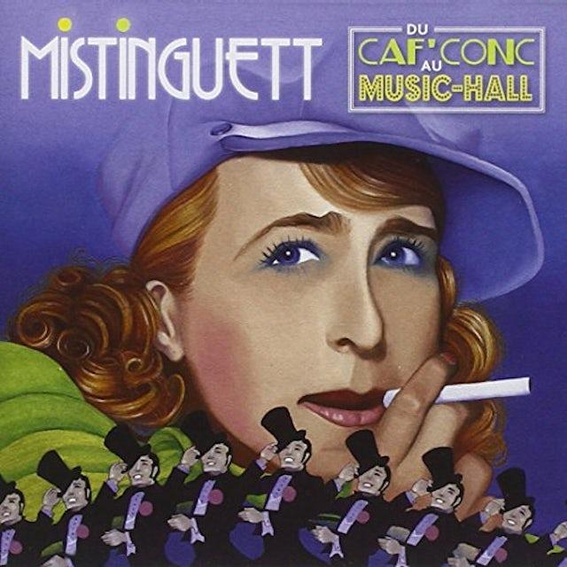 Mistinguett DU CAF' CONC AU MUSIC CD