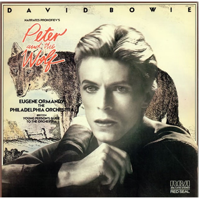 David Bowie PETER & THE WOLF Vinyl Record