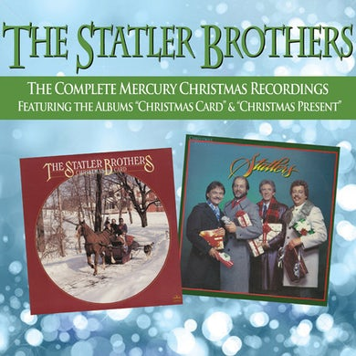 Statler Brothers COMPLETE CHRISTMAS RECORDINGS CD