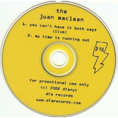 The Juan McLean YOU CAN'T HAVE IT BOTH WAYS Vinyl Record