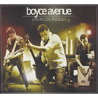Boyce Avenue LIVE IN LOS ANGELES CD
