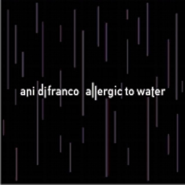 Ani Difranco ALLERGIC TO WATER Vinyl Record