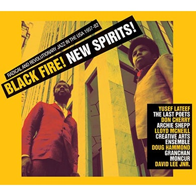 Soul Jazz Records Presents BLACK FIRE NEW SPIRIT CD