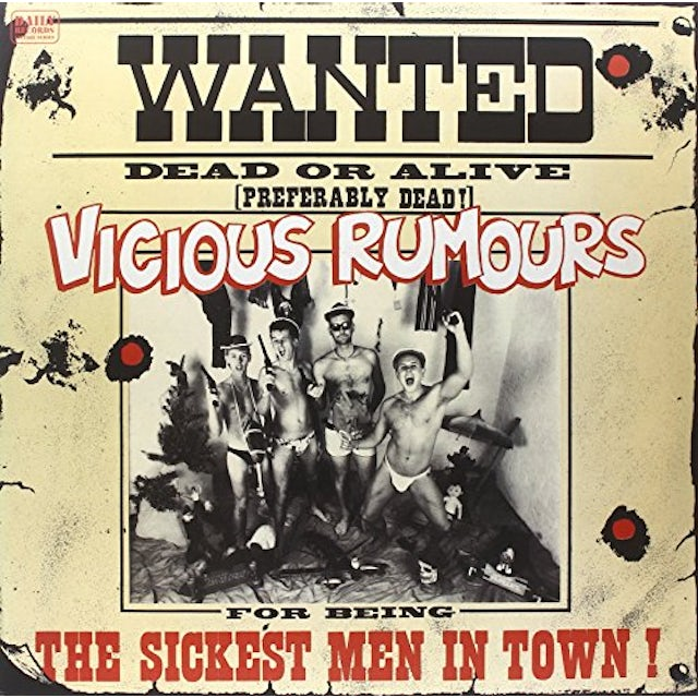 VICIOUS RUMOURS SICKEST MEN IN TOWN Vinyl Record