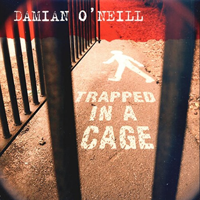 Damien O'Neill TRAPPED IN A CAGE Vinyl Record