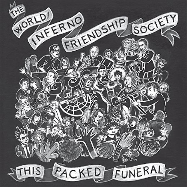 World / Inferno Friendship Society THIS PACKED FUNERAL Vinyl Record