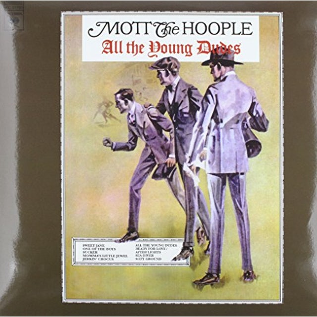 Mott The Hoople ALL THE YOUNG DUDES Vinyl Record
