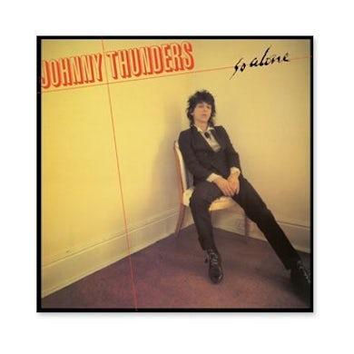 Johnny Thunders SO ALONE Vinyl Record