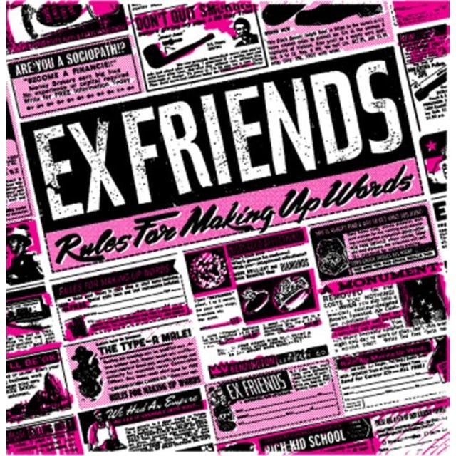 Exfriends RULES FOR MAKING UP WORDS Vinyl Record
