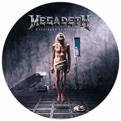 Megadeth COUNTDOWN TO EXTINCTION Vinyl Record