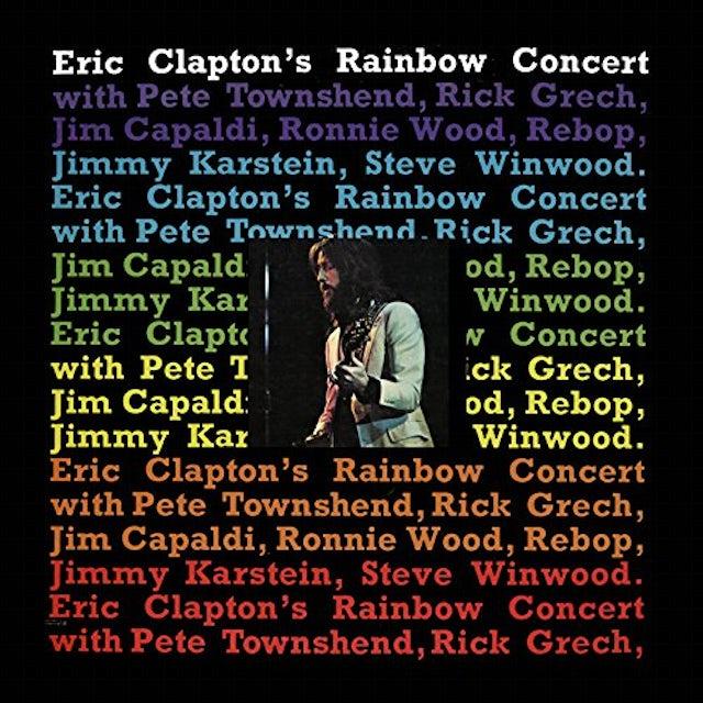 Eric Clapton RAINBOW CONCERT Vinyl Record