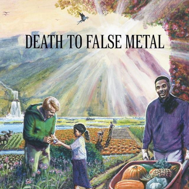 Weezer DEATH TO FALSE METAL Vinyl Record