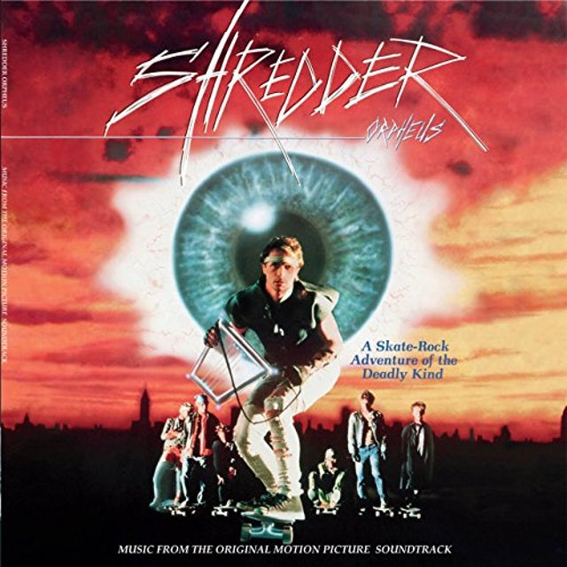 Roland Barker SHREDDER ORPHEUS / Original Soundtrack Vinyl Record