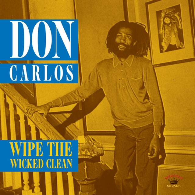 Don Carlos WIPE THE WICKED CLEAN Vinyl Record