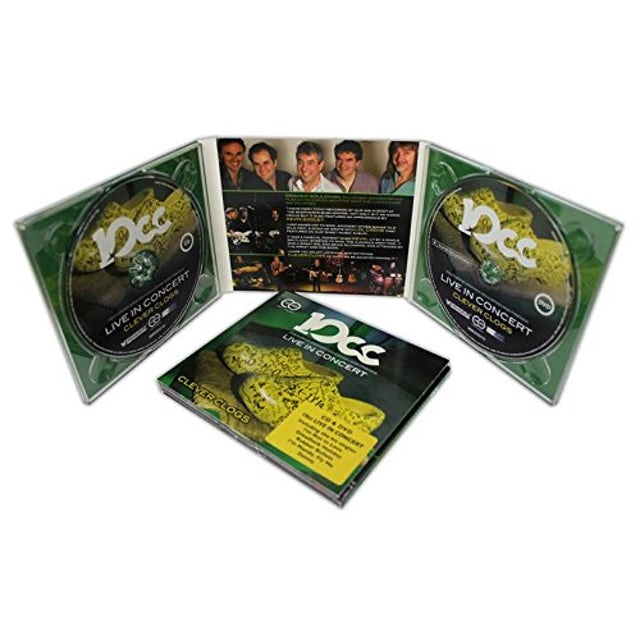 10cc LIVE IN CONCERT CD