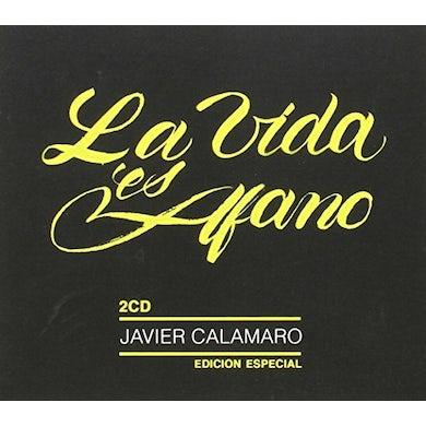 Javier Calamaro LA VIDA ES AFANO CD