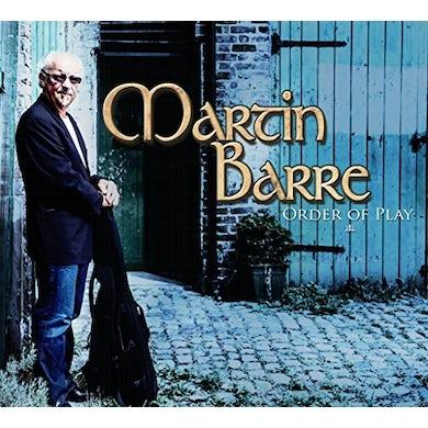 Martin Barre ORDER OF PLAY Vinyl Record