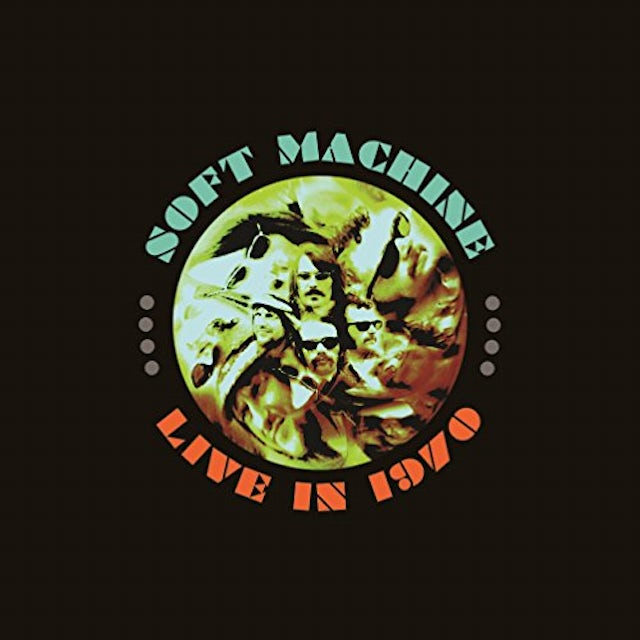 Soft Machine LIVE IN 1970: DELUXE Vinyl Record Box Set