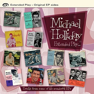 Michael Holliday EXTENDED PLAY CD
