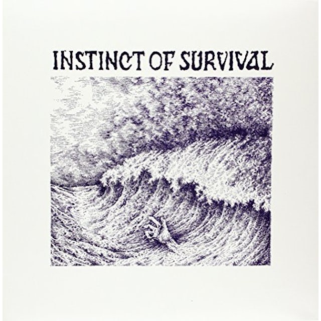 INSTINCT OF SURVIVAL CALL OF THE BLUE DISTANCE Vinyl Record