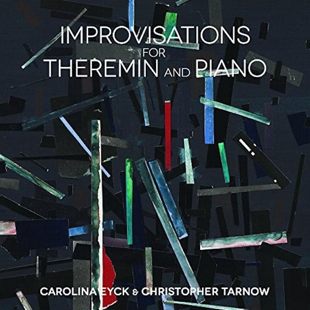 Carolina Eyck & Christopher Tarnow IMPROVISATIONS FOR THEREMIN & PIANO Vinyl Record