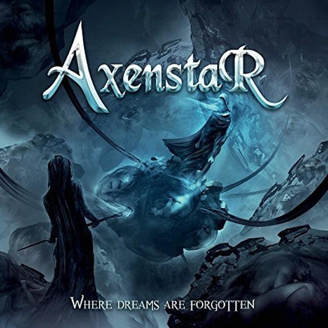 Axenstar WHERE DREAMS ARE FORGOTTEN CD