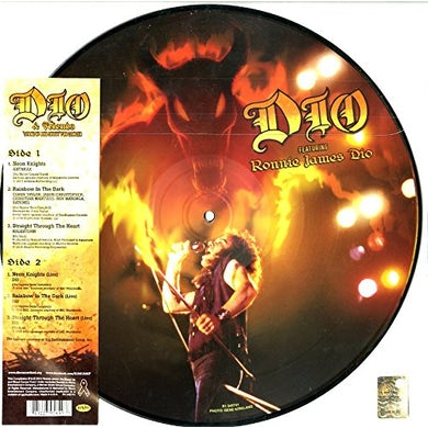 Ronnie James Dio / Dio & Friends DIO & FRIENDS STAND UP & SHOUT FOR CANCER Vinyl Record