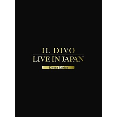 Il Divo MUSICAL AFFAIR-LIVE IN JAPAN: DELUXE EDITION CD
