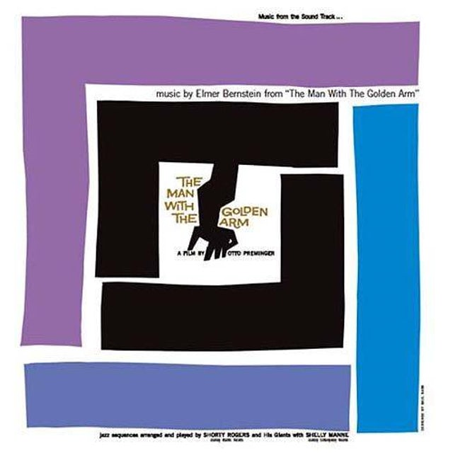 Elmer Bernstein MAN WITH THE GOLDEN ARM / O.S.T. Vinyl Record