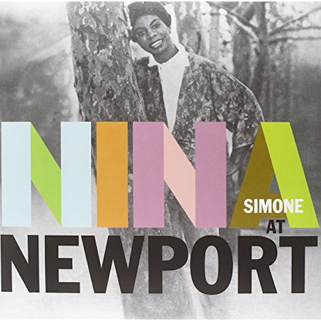 Nina Simone NINA AT NEWPORT Vinyl Record