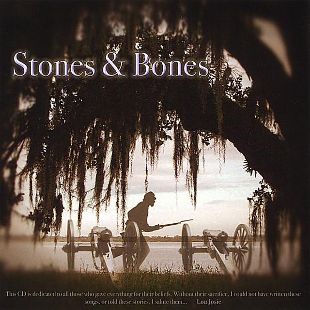 Lou Josie STONES & BONES CD