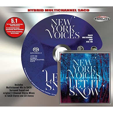 New York Voices LET IT SNOW CD