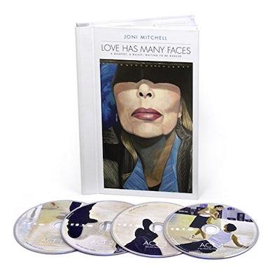 Joni Mitchell LOVE HAS MANY FACES: A QUARTET A BALLET WAITING CD