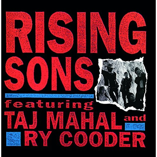 Ry Cooder & Taj Mahal RISING SONS CD
