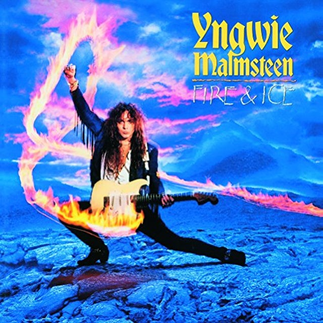 Yngwie Malmsteen FIRE & ICE Vinyl Record