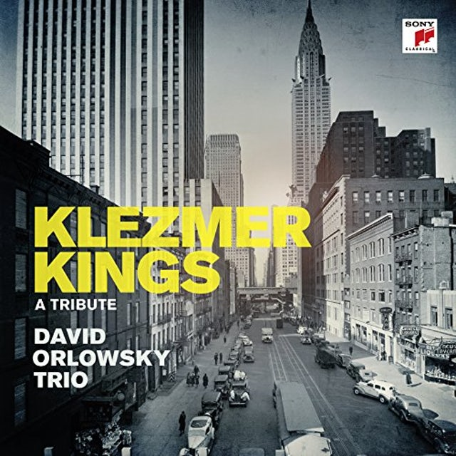 David Orlowsky KLEZMER KINGS Vinyl Record
