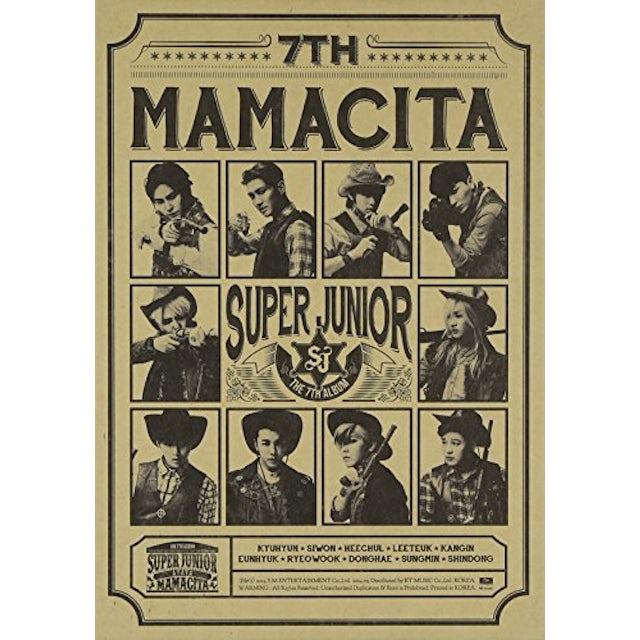 Super Junior MAMACITA B VER. 7 CD
