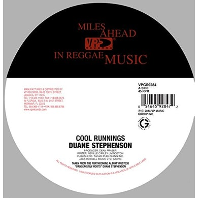 Duane Stephenson COOL RUNNINGS Vinyl Record