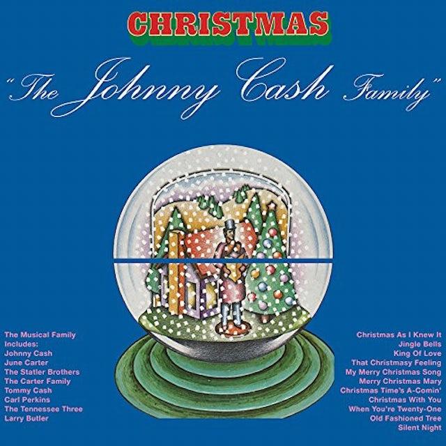 Johnny Cash FAMILY CHRISTMAS Vinyl Record
