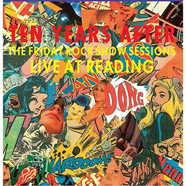Ten Years After LIVE AT READING '83 (FRIDAY ROCK SHOW SESSIONS) Vinyl Record