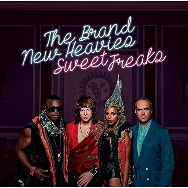 Brand New Heavies SWEET FREAKS CD