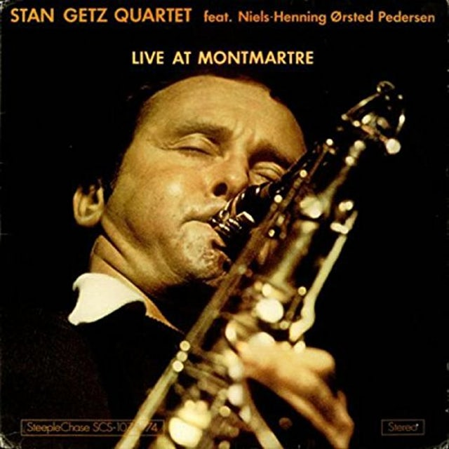 Stan Getz LIVE AT MONTMARTRE Vinyl Record