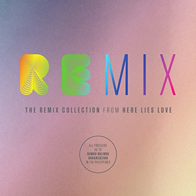David Byrne & Fatboy Slim REMIX COLLECTION FROM HERE LIES LOVE CD
