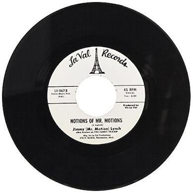 Jimmy Lynch NOTIONS OF MR. MOTIONS Vinyl Record