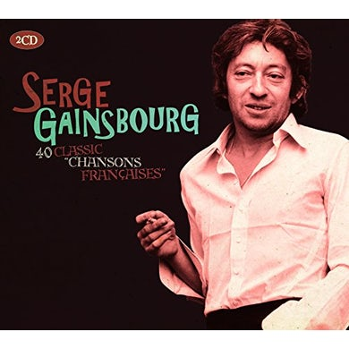 Serge Gainsbourg CLASSIC CHANSONS FRANCE CD