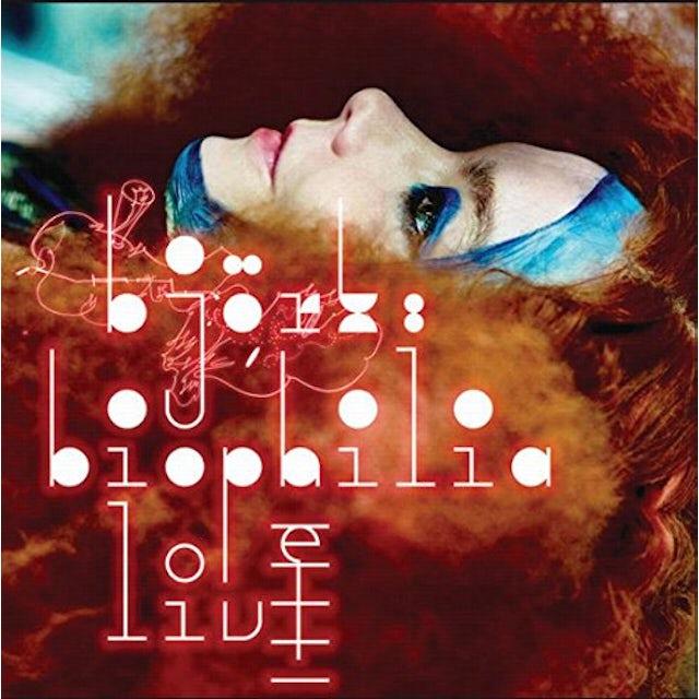 Bjork BIOPHILIA LIVE CD